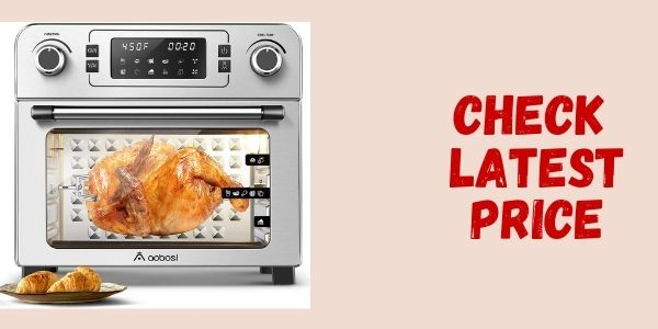 Aobosi 10 in 1 Multifunction Air Fryer Toaster Oven