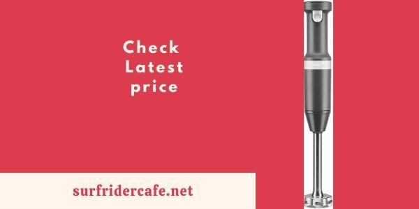 KitchenAid KHBBV53DG Cordless Hand Blender