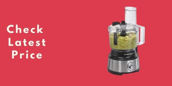 Hamilton Beach 10-Cup Food Processor & Vegetable Chopper (70730)