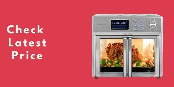 Kalorik 26 QT Digital Maxx Air Fryer Oven with 9 Accessories AFO 46045 SS