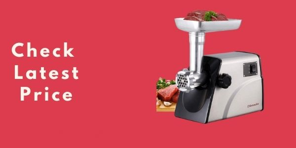Sunmile SM-G33 Electric Meat Grinder - 1HP 800W Max Power
