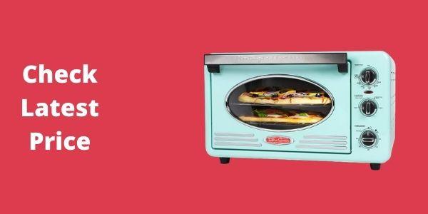 Nostalgia RTOV2AQ Multi-Functioning Retro Convection Toaster Oven