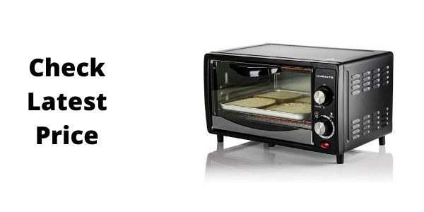 Ovente TO5810B Countertop 4 Slice Capacity Convection Toaster Oven
