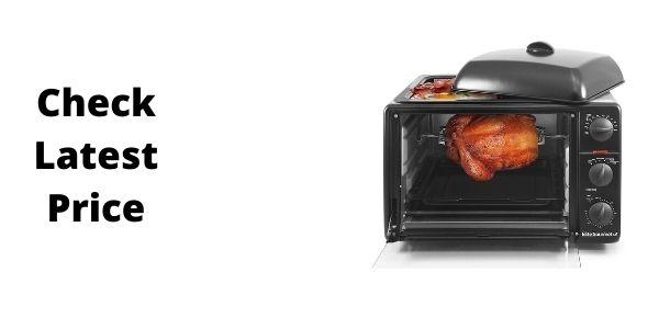 Elite Gourmet ERO-2008SZ Countertop XL Toaster Oven
